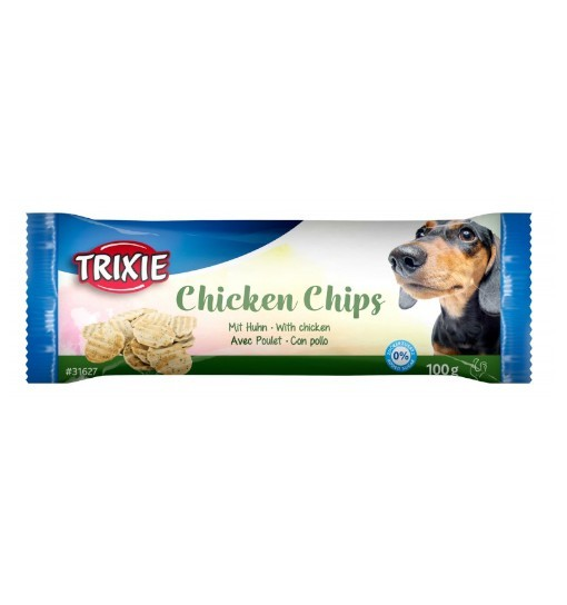 Trixie Chicken Chips - chipsy o smaku kurczaka 100g