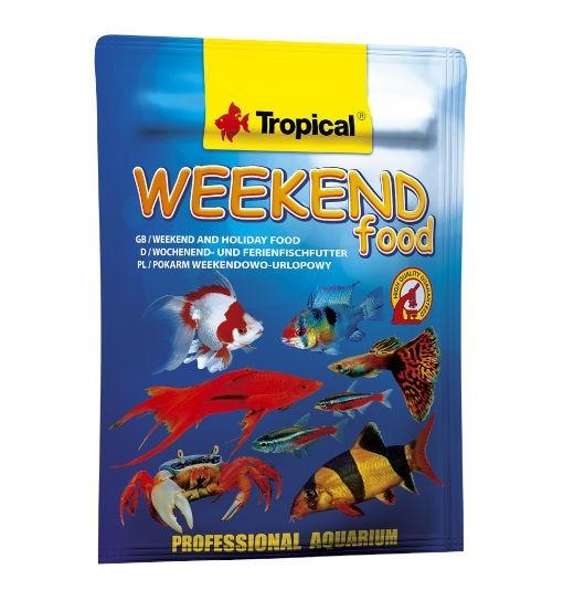 Tropical Weekend Food 20g - pokarm weekendowy dla ryb