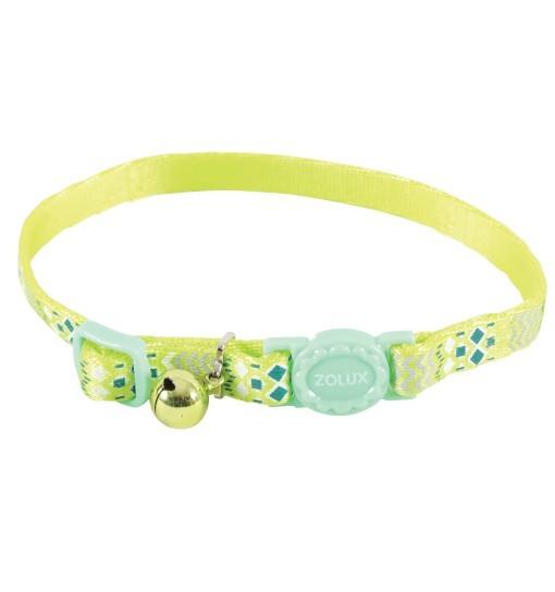 Zolux Obroża nylonowa dla kota ETHNIC /zielona
