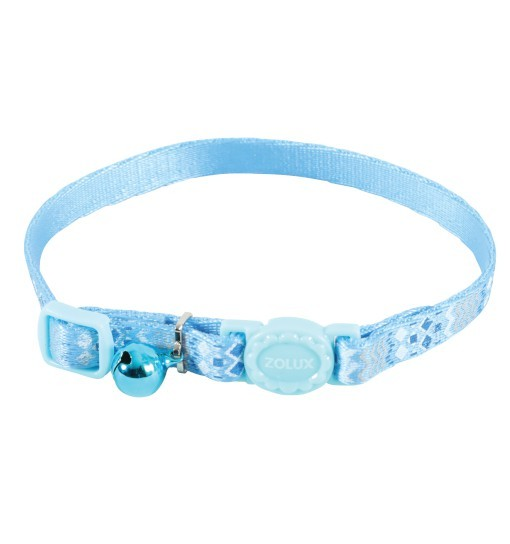 Zolux Obroża nylonowa dla kota ETHNIC /niebieska