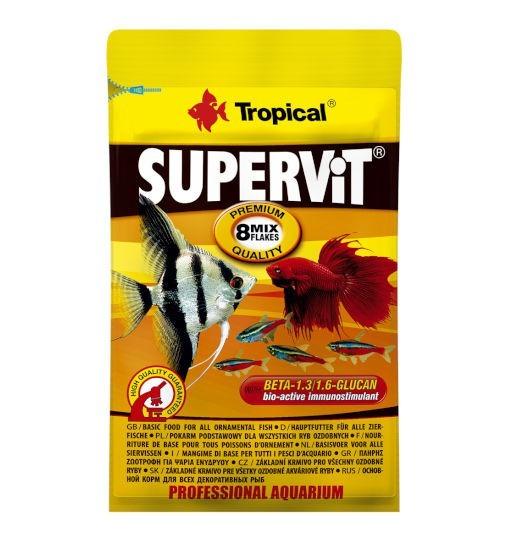 Tropical Supervit płatki - pokarm dla ryb