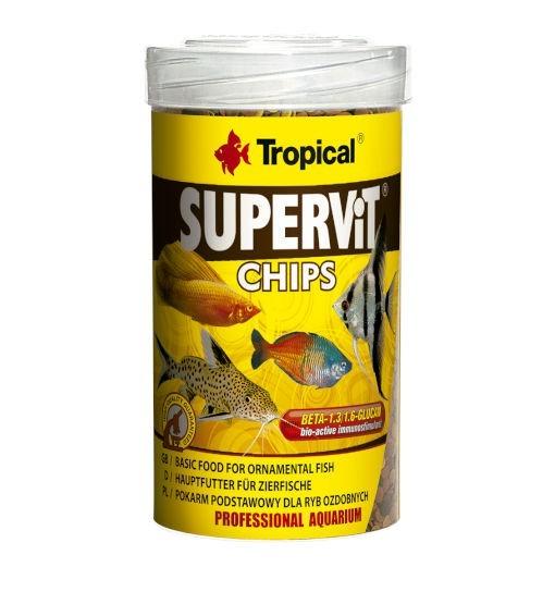 Tropical Supervit chips - pokarm dla ryb