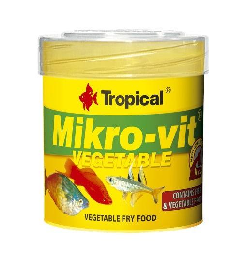 Tropical Mikro-vit vegetable - pokarm roślinny dla narybku