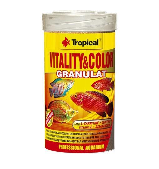 Tropical Vitality & color granulat - pokarm granulowany o działaniu wybarwiającym