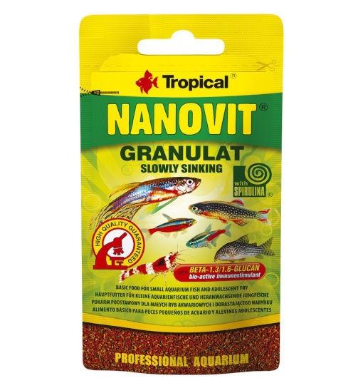 Tropical Nanovit granulat - pokarm w formie drobnego granulatu