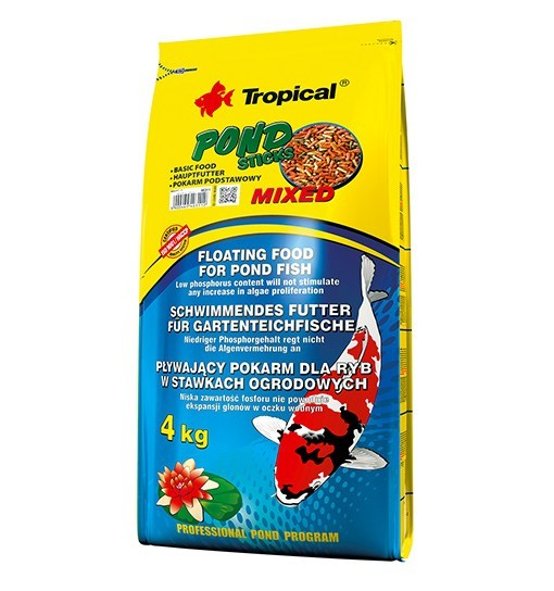 Pond Sticks Mixed worek 50l/4kg