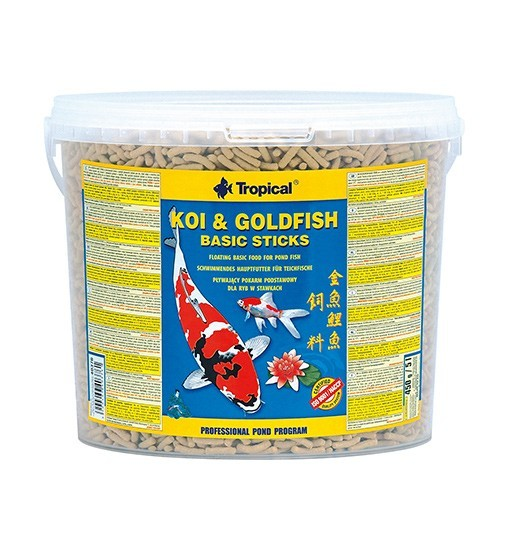 Koi&Goldfish Basic Sticks wiadro 5l/450g