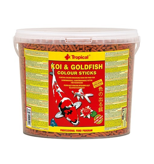 Koi&Goldfish Colour Sticks wiadro 5l/450g