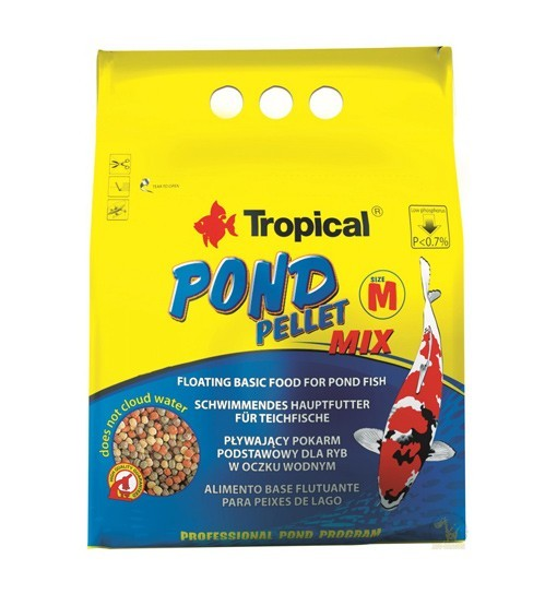 Pond Pellet Mix size M worek 1000ml/110g