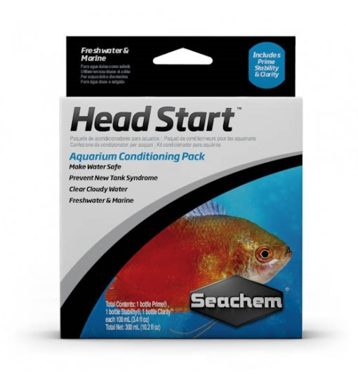 Seachem Head Start Pack 3 - 100 ml