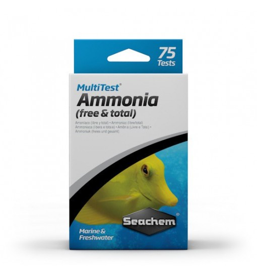 Seachem MultiTest: Ammonia 75 Tests - test amoniaku