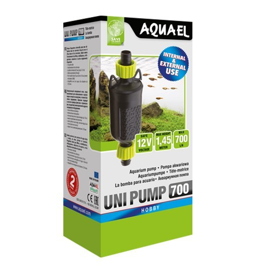 Aquael Uni Pump 700 - pompa turbinowa