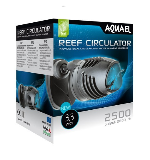 Aquael Reef CIRCULATOR 2500 - pompa turbinowa