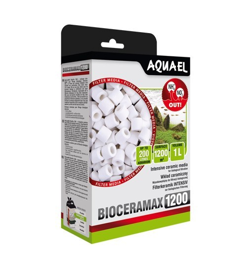 Aquael Bioceramax 1200 - wkład biologiczny