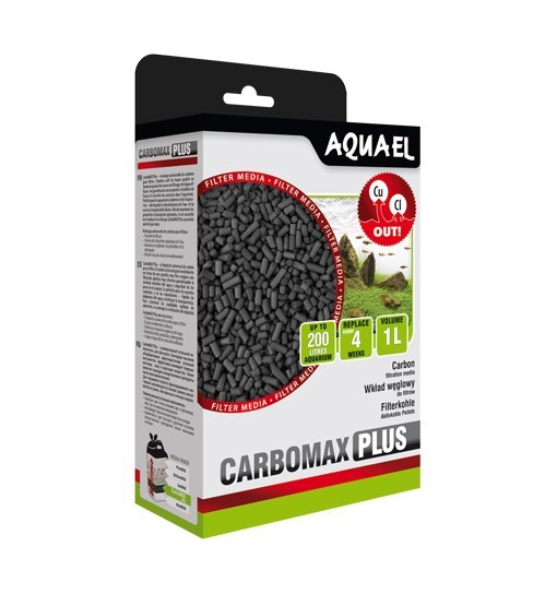 Aquael CarboMAX Plus 1L - wkład chemiczny
