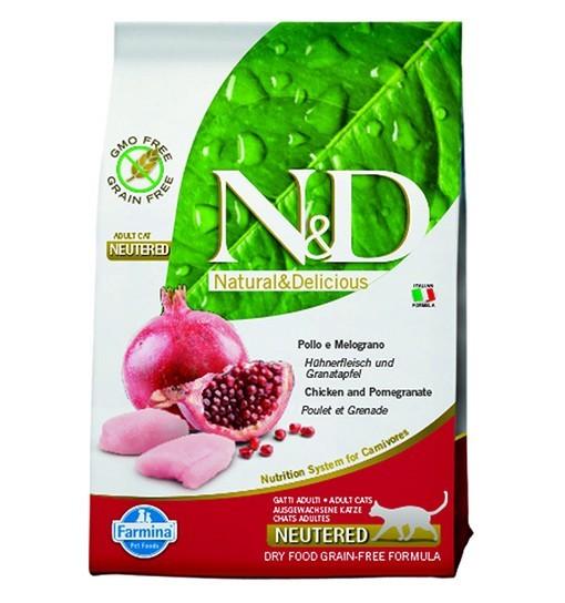 N&D Cat Chicken&Pomegranate Neutered
