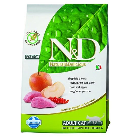N&D Boar&Apple Adult Cat