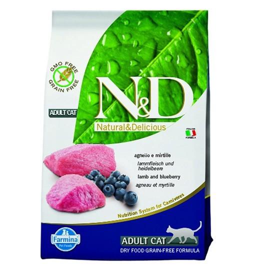 N&D Lamb&Blueberry Adult Cat