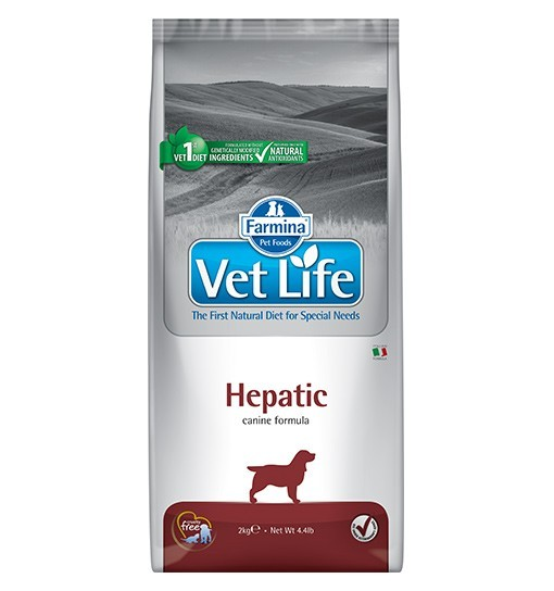 Vet Life Hepatic Dog