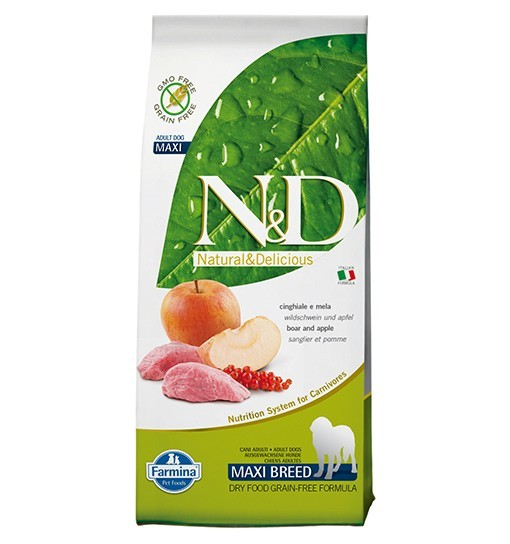 N&D Boar&Apple Adult Maxi Dog 12kg