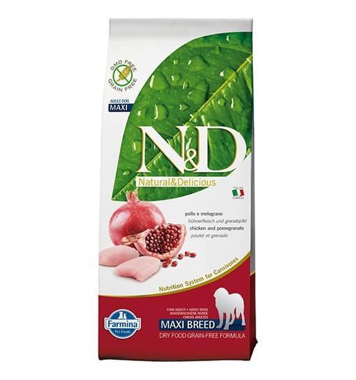 N&D Chicken&Pomegranate Adult Maxi Dog 12kg