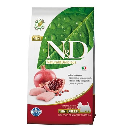 N&D Chicken&Pomegranate Adult Mini Dog
