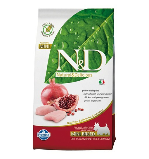N&D Chicken&Pomegranate Adult Mini Dog