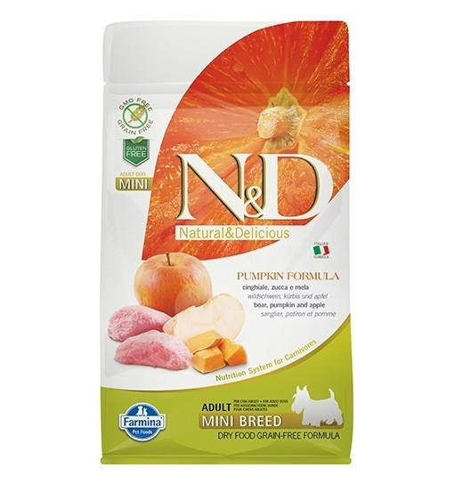 N&D GF Pumpkin Boar&Apple Adult Mini