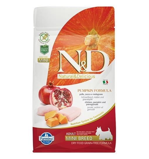 N&D GF Pumpkin Chicken&Pomegranate Adult Mini