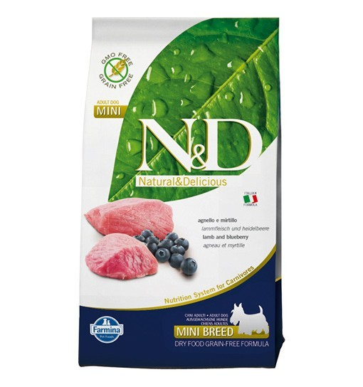 N&D Lamb&Blueberry Adult Mini