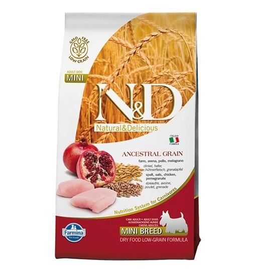 N&D Low Grain Chicken&Pomegranate Adult Mini Dog