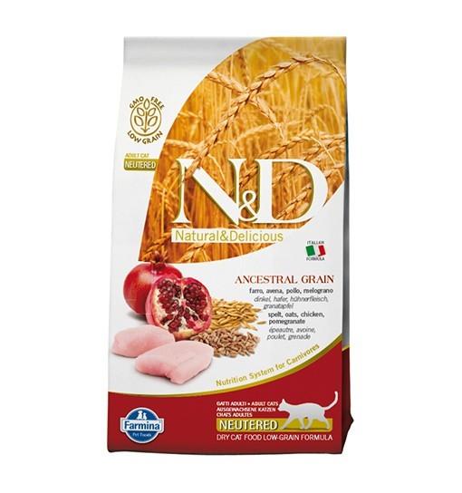 N&D Low Grain Chicken & Pomegranate Neutered Cat