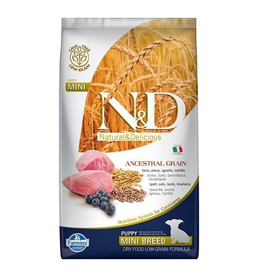 N&D Low Grain Lamb&Blueberry Puppy Mini
