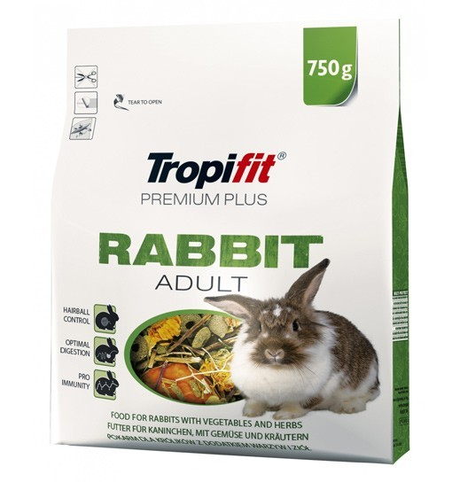 Tropifit Rabbit Adult Premium Plus 750g