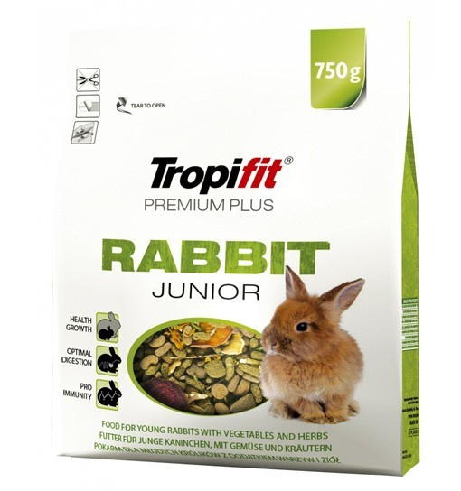 Tropifit Rabbit Junior Premium Plus 750g