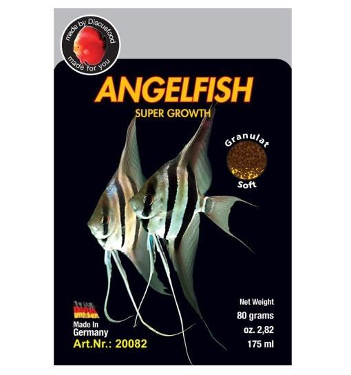 Angelfish Supergrowth 80g - pokarm dla skalarów