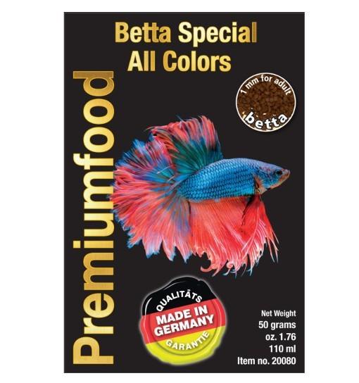 Betta Special All colors 50g - pokarm dla bojowników