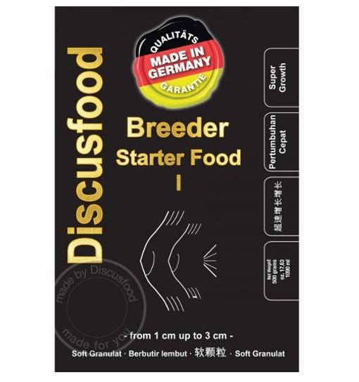 Breeder Starter Food I 500g - pokarm dla młodych dyskowców