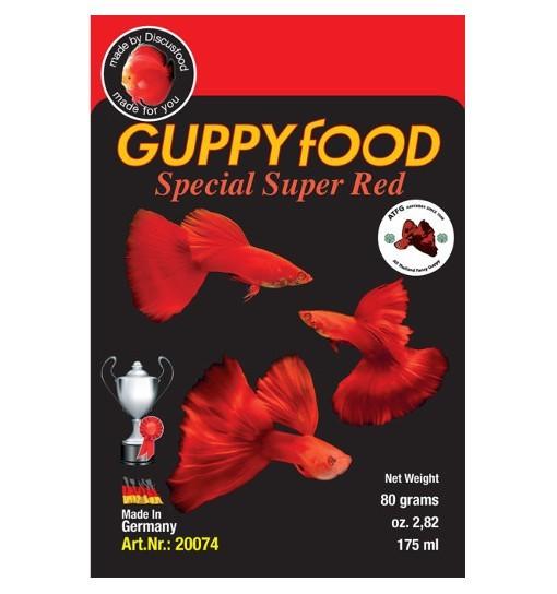 Guppy super special Red - pokarm dla gupików