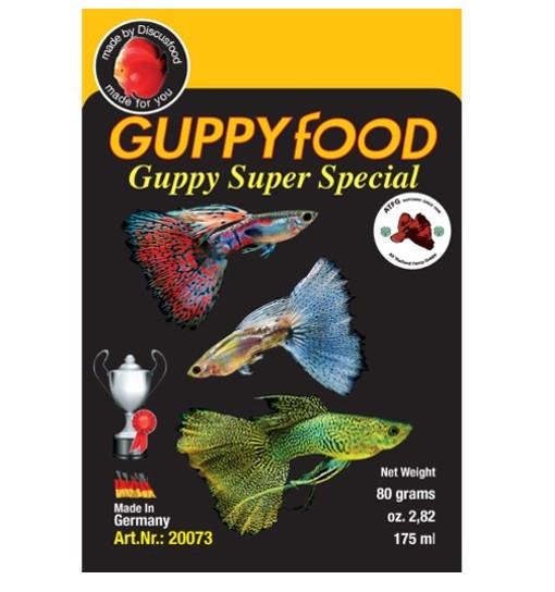 Guppy super special - pokarm dla gupików
