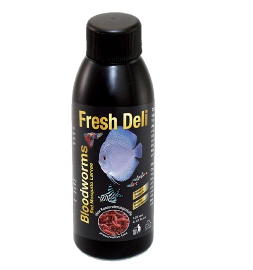 Bloodworms Red Fresh Deli 125ml