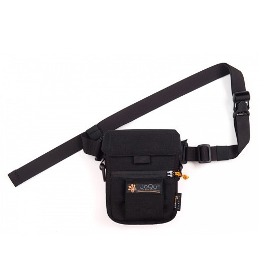 JoQu Small Snack Bag Black - mała torebka na przysmaki