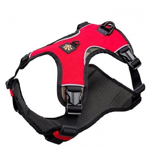 JoQu Warrior Harness Red - czerwona uprząż dla psa