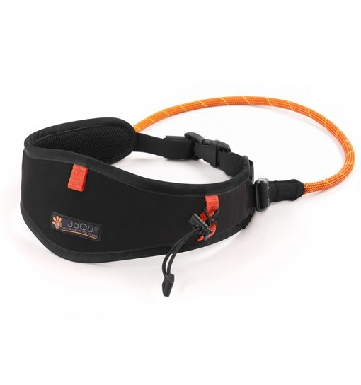 JoQu Light Canicross Belt Black - pas do biegania z psem