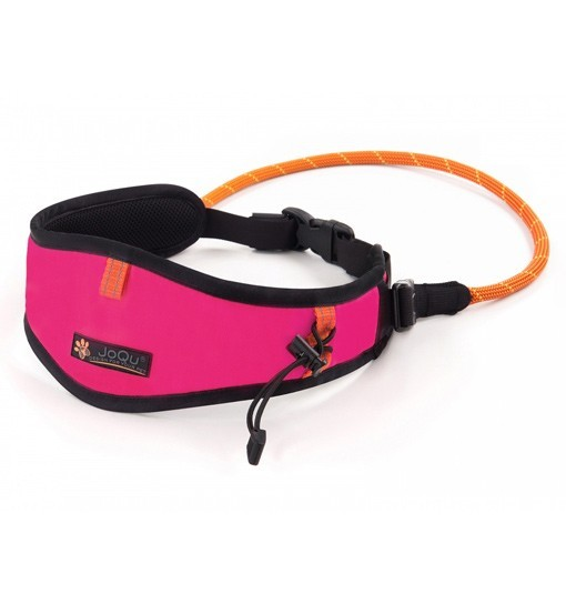 JoQu Light Canicross Belt Pink - pas do biegania z psem