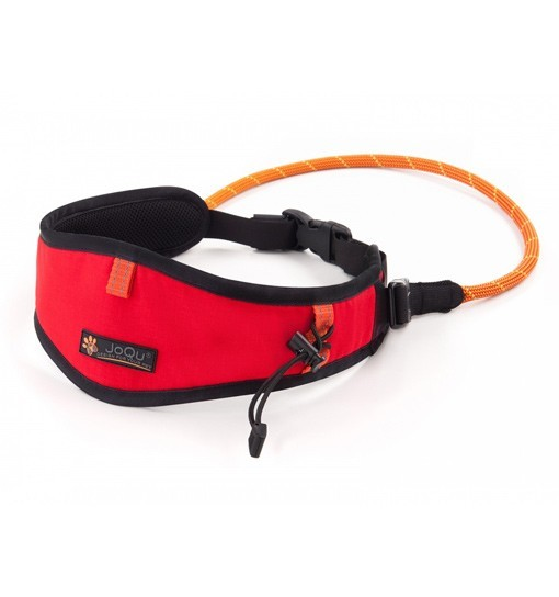 JoQu Light Canicross Belt Red - pas do biegania z psem