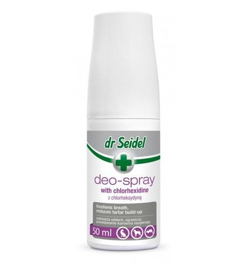 DEO SPRAY - spray z chlorheksydyną do pielęgnacji zębów 50 ml