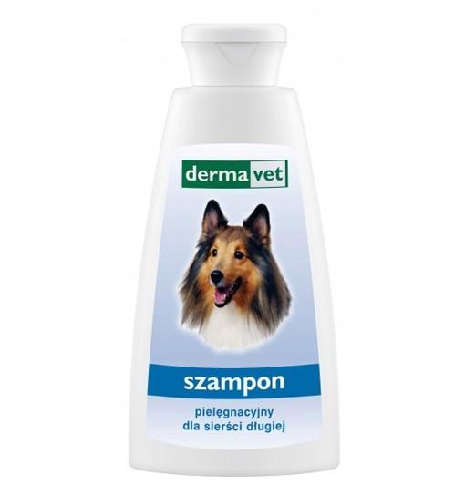 Pielęgnacyjny szampon dla sierści długiej 150 ml Dermavet
