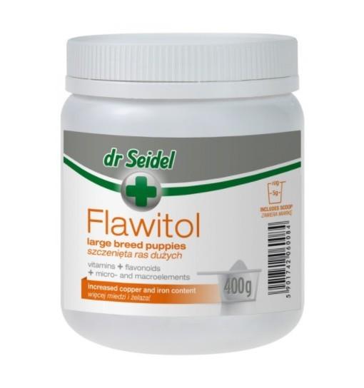 FLAWITOL - dla psów szczeniąt ras dużych (proszek)