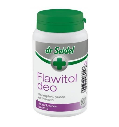 FLAWITOL DEO - z chlorofilem i Yucca Schidigera 60 tab.